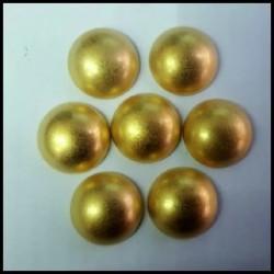 Cabuchón Oro 16 mm(25 Uds)