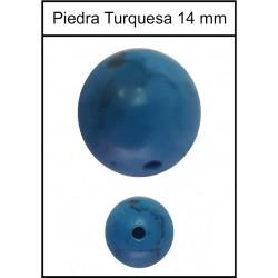 Piedra Turquesa 14mm