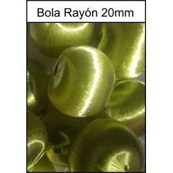 Bola Rayón Verde 20mm