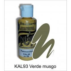Pintura Allegro 59ml. Verde musgo