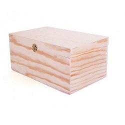 Caja de madera 24x13x10cm